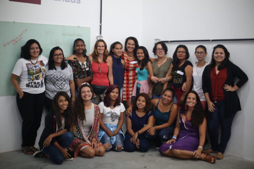 Teen girls in Manaus